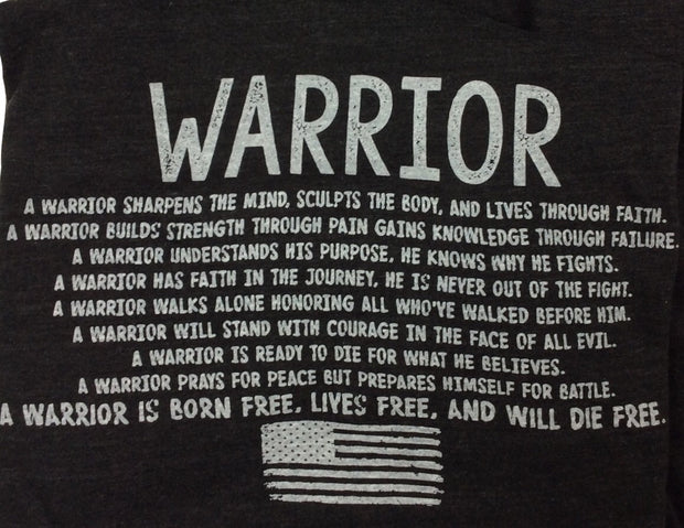 Men's Warrior's Creed (Heather Charcoal)
