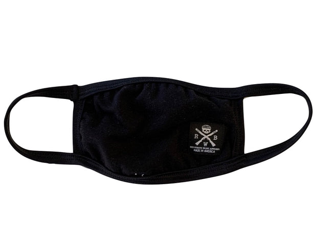 Face Cover With Pocket (Black)
