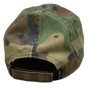 American Flag Vintage Washed Full Fabric Camoflauge - RANGE HAT