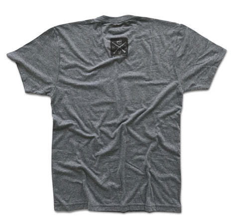 Men's Classic Bowtie American Truck T-Shirt (Heather Gray)