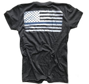 Women's Thin Blue Line (Heather Black)