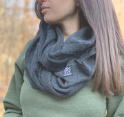 Thermal Infinity Scarf Heather Black