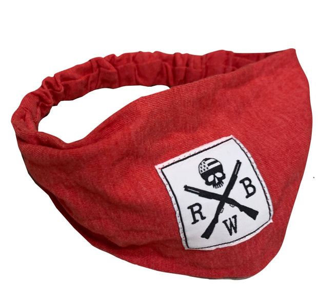 Women's American Made Heather Red Headband
