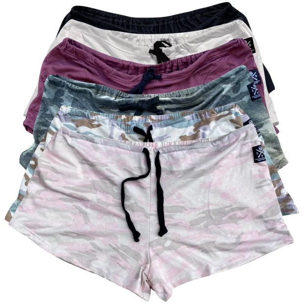 Women's American Made Ultra Soft Lounge Pajama Shorts