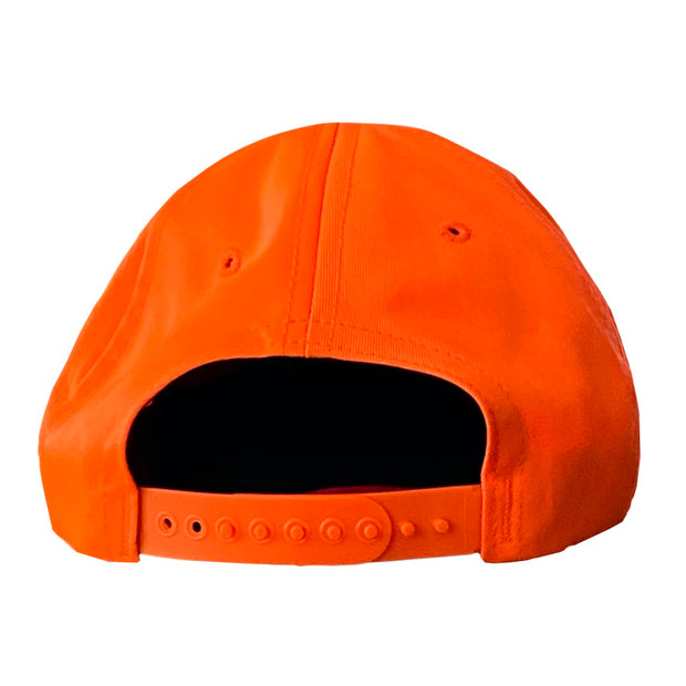 Bowhunter American Flag Blaze Orange Gun Season Hat