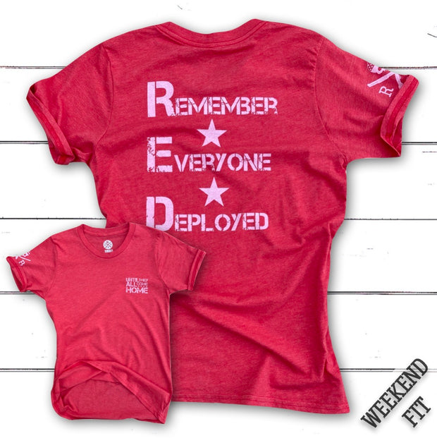 Women's Red Friday Support Operation Homefront (Red)