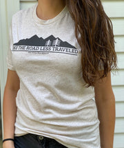 Women's Road Less Traveled Weekend Fit T-Shirt (Oatmeal)