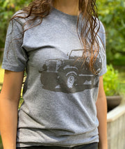 Women's Classic American Flag Jeep Weekend Fit T-Shirt