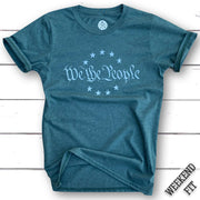 Women's We The People  Patriotic T-Shirt