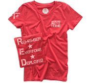 women's red white blue apparel red friday remember everyone deployed united states military patriotic t shirt full
