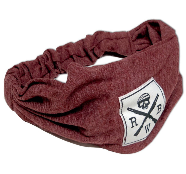 Women's American Made Heather Burgundy Headband