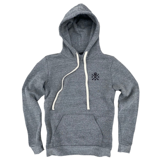 Women's Patriotic Logo Hooded Sweatshirt (Heather Gray)