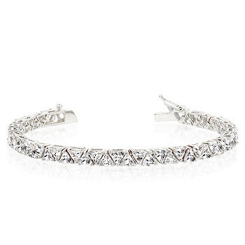 Trillion Tennis Bracelet