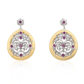 Filigree Formal Drop Earrings