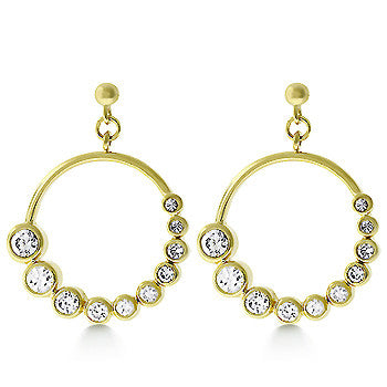 Grecian Goddess CZ Earrings