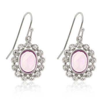 Pink Estate Earrings