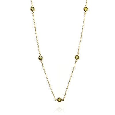 Gold Addition Necklace
