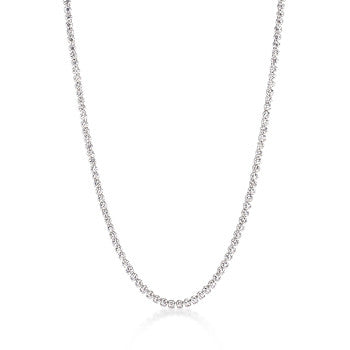 Long Elegant CZ Necklace