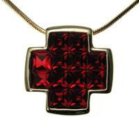 Cross Block Pendant
