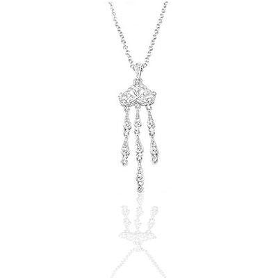 Jelly Fish CZ Pendant