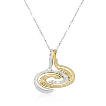 Decorative Oval 2-Piece Pendant