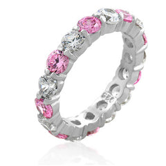 Parisian Luster Eternity Ring