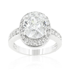 Fancy Oval Classic Ring