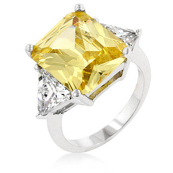 Cushion Jonquil Engagement Ring