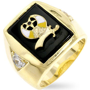 Shriners Mens Ring