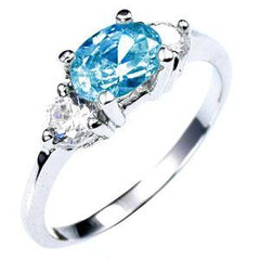 Oval Orchestra CZ Ring