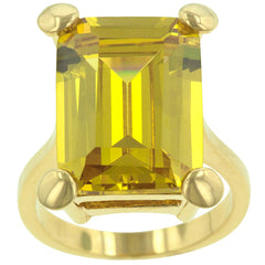 Jonquil Solitaire Cocktail Ring