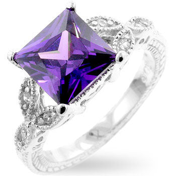 Amethyst Royal Cocktail Ring