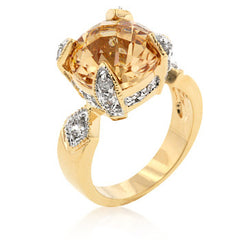 Champagne Brilliance Ring