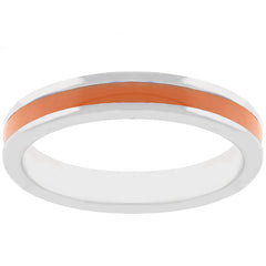 Enamel Orange Ring