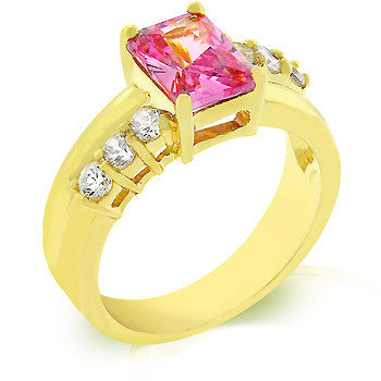 Pink Ice Radiant Ring