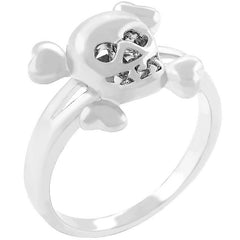 Skull and Cross Bone Ring