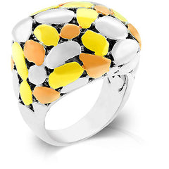 Golden Stones Ring