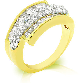 Channel Baguette Anniversary Ring