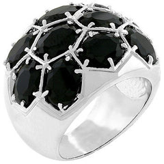 Midnight Dome Ring