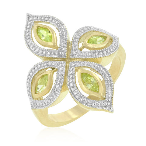 Apple Green Luxe Ring