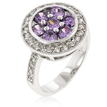 Lavender Lily Ring
