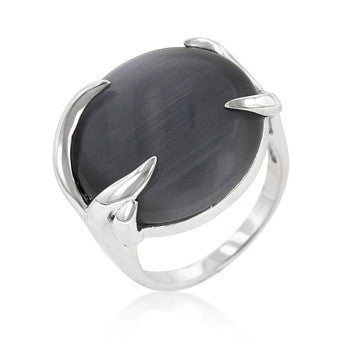 Grey Eye Talon Ring