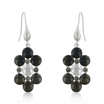 Decadent Two-Toned Dangle Earrings
