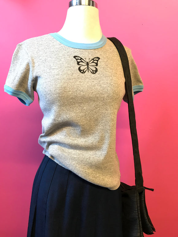 90s Butterfly Baby Tee