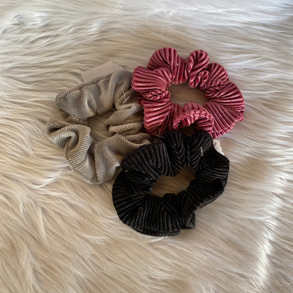 Set of 3 Scrunchies (Corduroy)