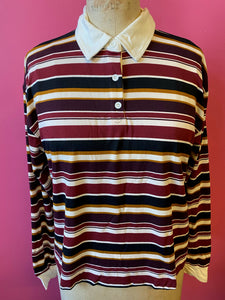 Berry Stripes Long Sleeve
