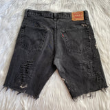 Upcycled Levis Shorts 505