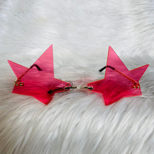 Pink Star Sunglasses
