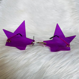 Purple Star Sunglasses