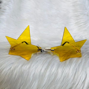 Yellow Star Sunglasses
